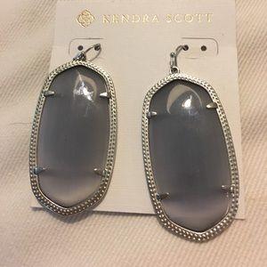 Kendra Scott Danielle silver with gray
